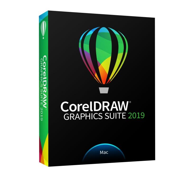 CorelDraw Graphics Suite 2019 - Mac - BOX