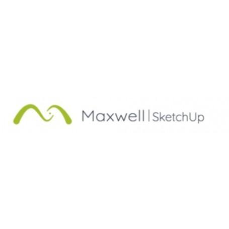 MAXWELL V5 SKETCHUP FLOATING