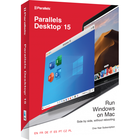 Parallels Desktop for Mac v.15 - 1 an abonament