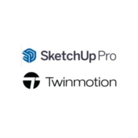 Bundle Sketchup Pro 2021 + Twinmotion abonament anual 1 an
