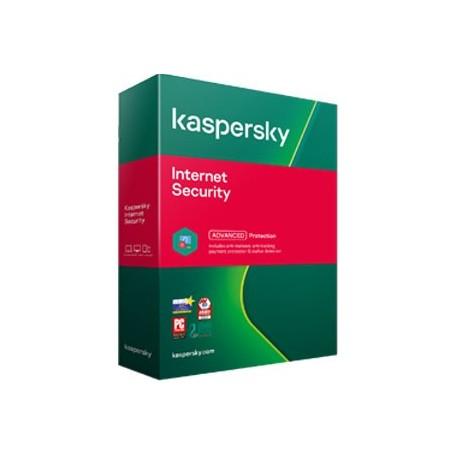 Kaspersky Internet Security 3 PC  ani: 1, reinnoire