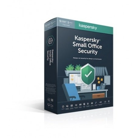 Kaspersky Small Office Security - pachete fara File Server 4 PC  ani: 1, noua