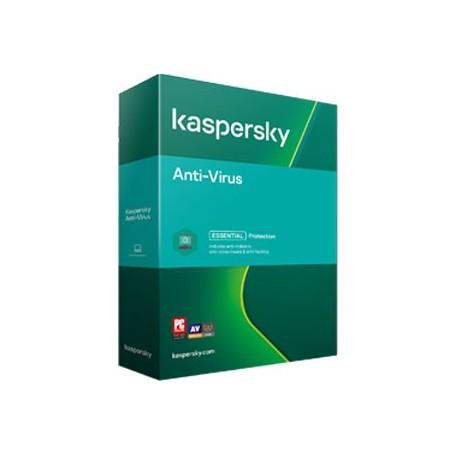 Kaspersky AntiVirus 2 PC  ani: 2, reinnoire
