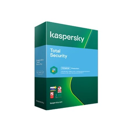 Kaspersky Total Security 3 PC  ani: 2, reinnoire