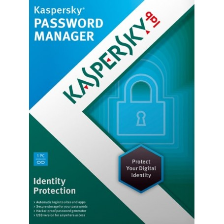 Kaspersky Password Manager Cloud 1 PC  ani: 1, noua